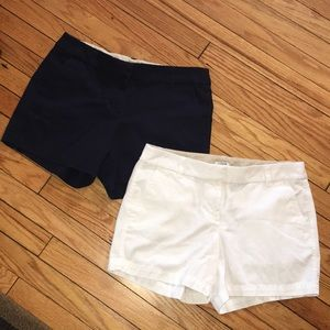 BOTH ONLY $20 J Crew City Fit Chino Shorts Bundle!